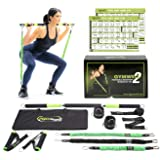 Gymwell Portable Resistance Workout Set, Total Body Workout Equipment for Home, Office or Outdoor with 3 Sets of Resistance B