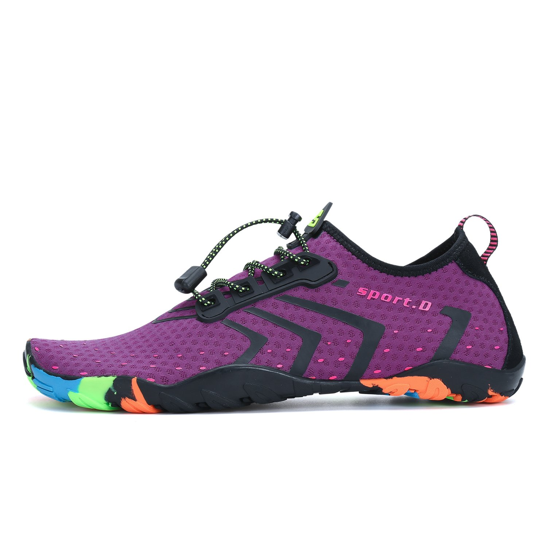 SAGUARO Men Women Skin Barefoot Water Shoes Quick-Dry Aqua Socks Beach Shoe for Sports Driving Yoga Swim