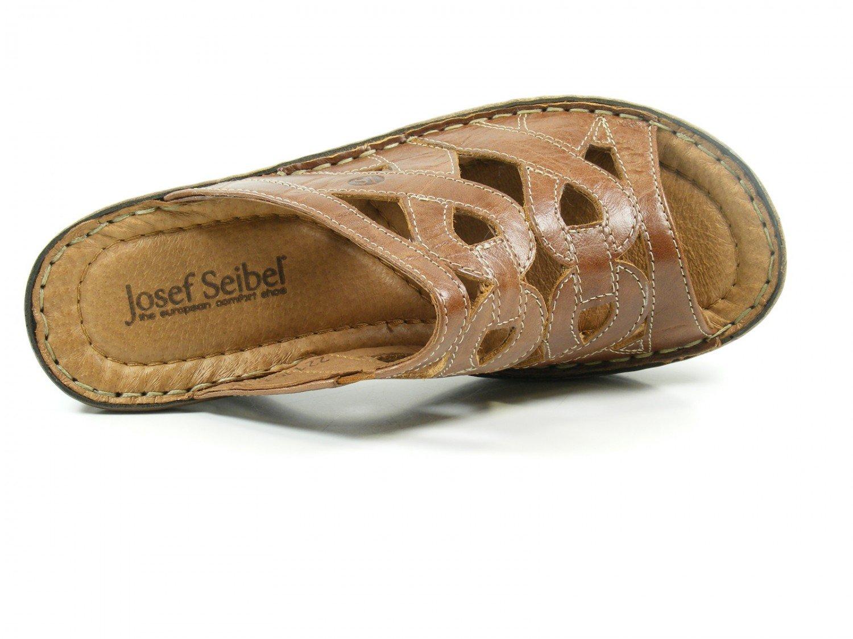 Josef Seibel 56508-61-320 Catalonia 44 Damen Schuhe Sandalen Pantoletten Clogs, Schuhgröße:41;Farbe:Braun