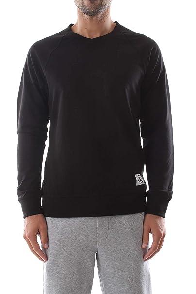 Calvin Klein Hombre Monogram Pijama Top, Negro: Amazon.es: Ropa y accesorios