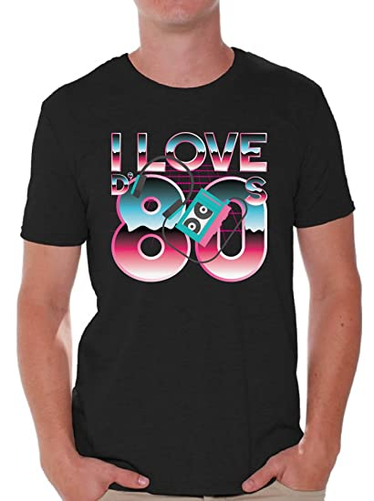 28767aedb Awkward Styles 80s Shirts 80s Clothes for Men 80s Disco I Love The 80s T  Shirt