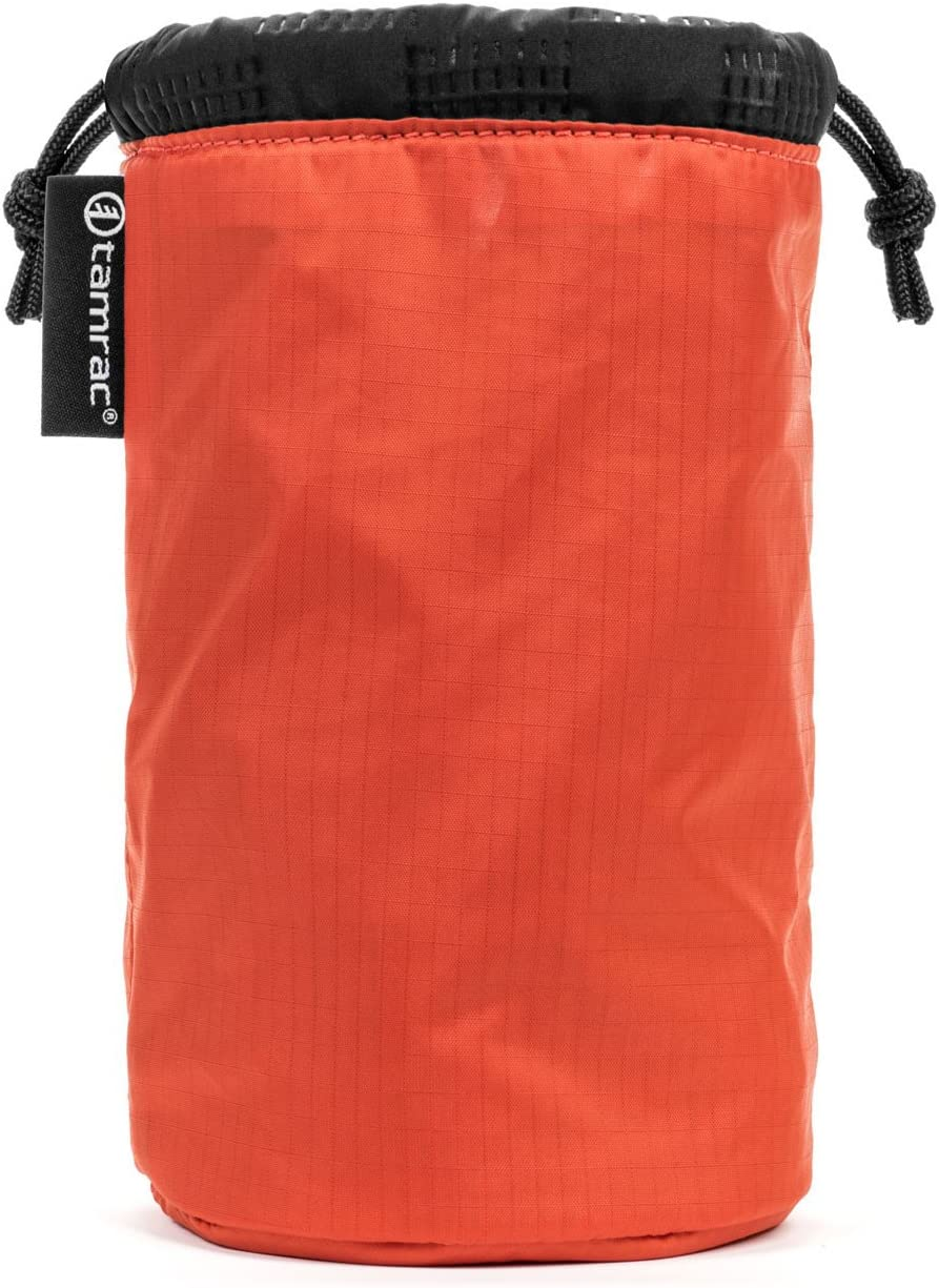 Quilted Easy-to-Access Protection Drawstring Ocean Tamrac Goblin Lens Pouch 5.3 |Lens Bag