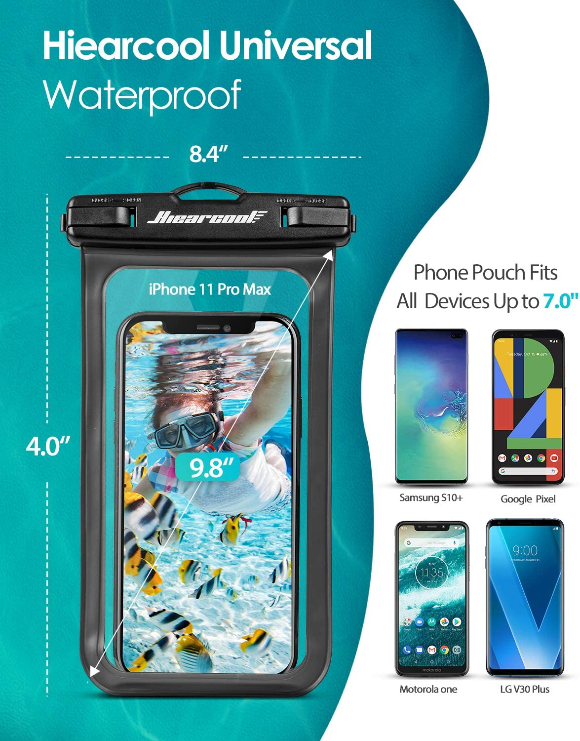 Waterproof case cover for lg k10 water aquatic waterproof pouch protector d121