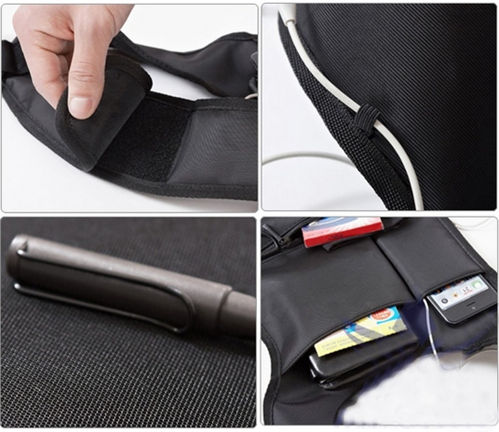 cell phone double shoulder holster