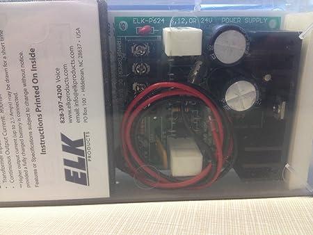 Elk Products ELKP624 Elk Elk-P624 Power Supply 1A