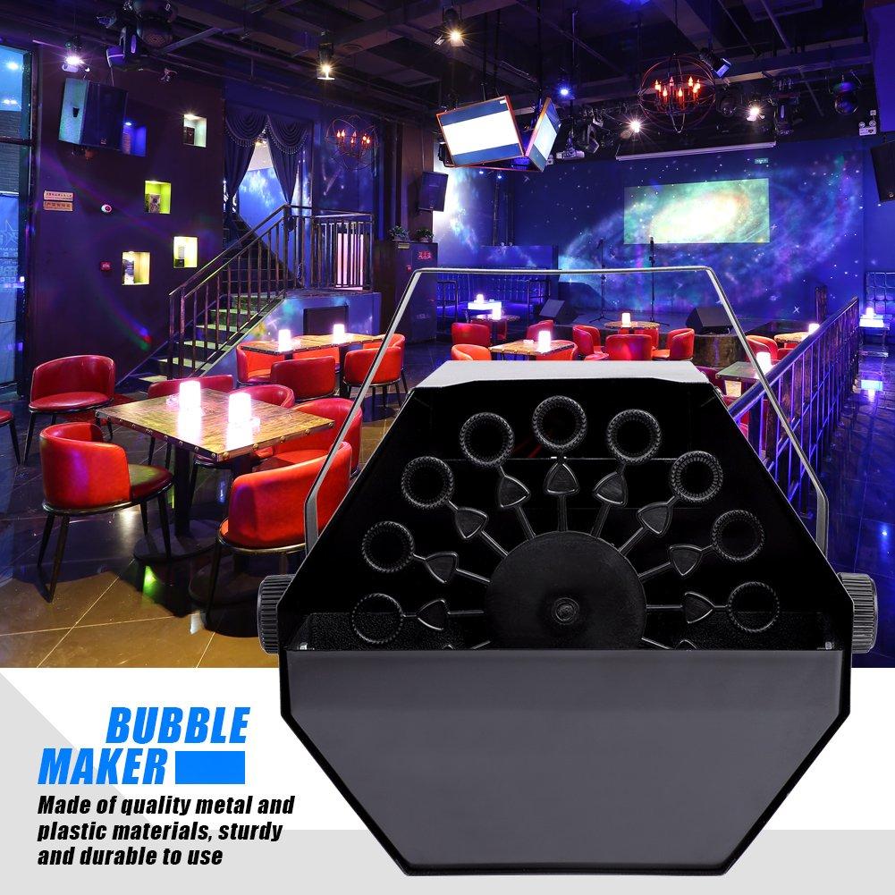Bubble Machine-25W 110V Blowing Mechanism Automatic Bubble Maker Blower for DJ Party Club Show
