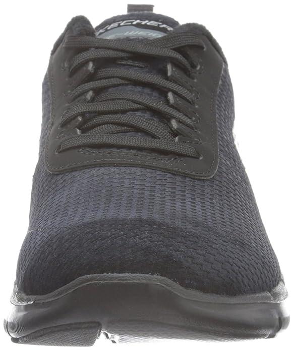 Skechers Damen Flex Appeal 2.0Shadow Play Sneakers, Rot