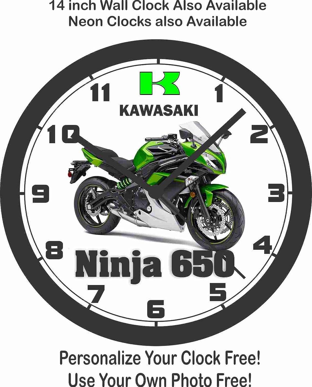 Amazon.com: 2016 KAWASAKI NINJA 650 WALL CLOCK-FREE USA SHIP ...