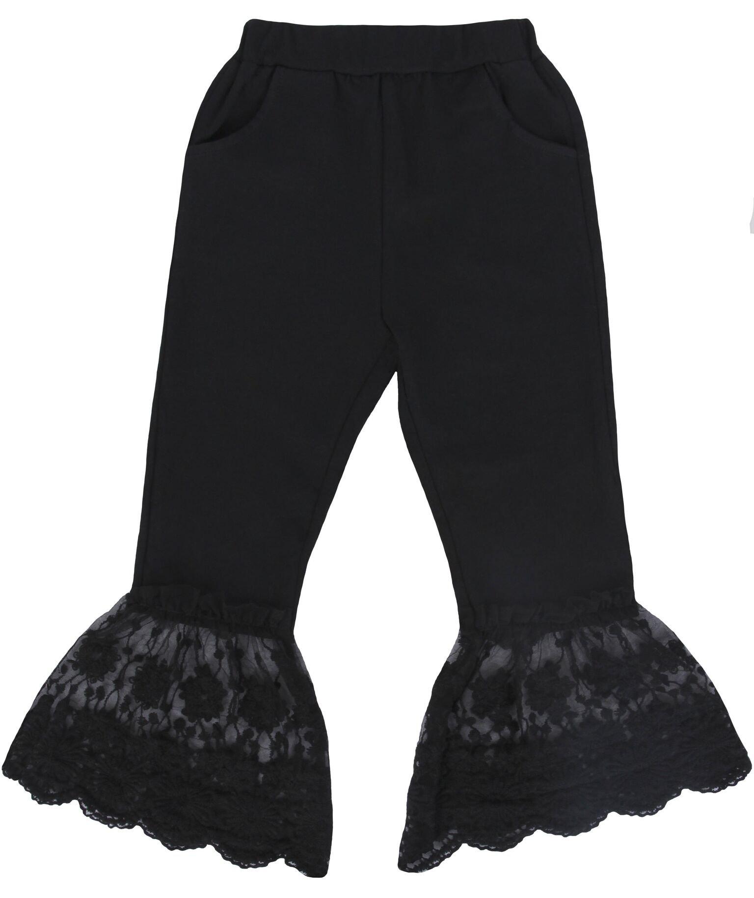 Seven Sisters Lace Bottom Pants (4)