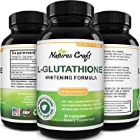 Pure Glutathione + Milk Thistle Extract Supplement - Potent Antioxidant for Immune...