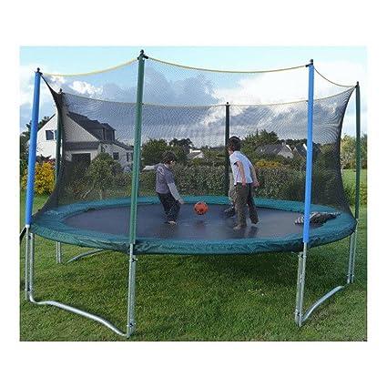 Red de protección para cama elástica 3 m: Amazon.es: Deportes y ...