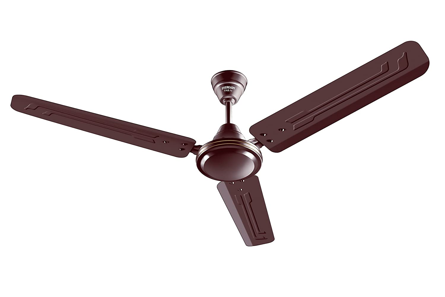 Buy eveready fab m 1200mm 3 blades ceiling fan brown online at low buy eveready fab m 1200mm 3 blades ceiling fan brown online at low prices in india amazon mozeypictures