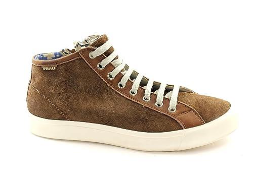 FRAU 29C4 sigaro scarpe uomo sneakers mid camoscio lacci  Amazon.it  Scarpe  e borse 9cd96cd548e