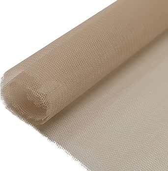 Tell Tayon Nylon Fabric, 60 Inch x 25 Yard, Brown
