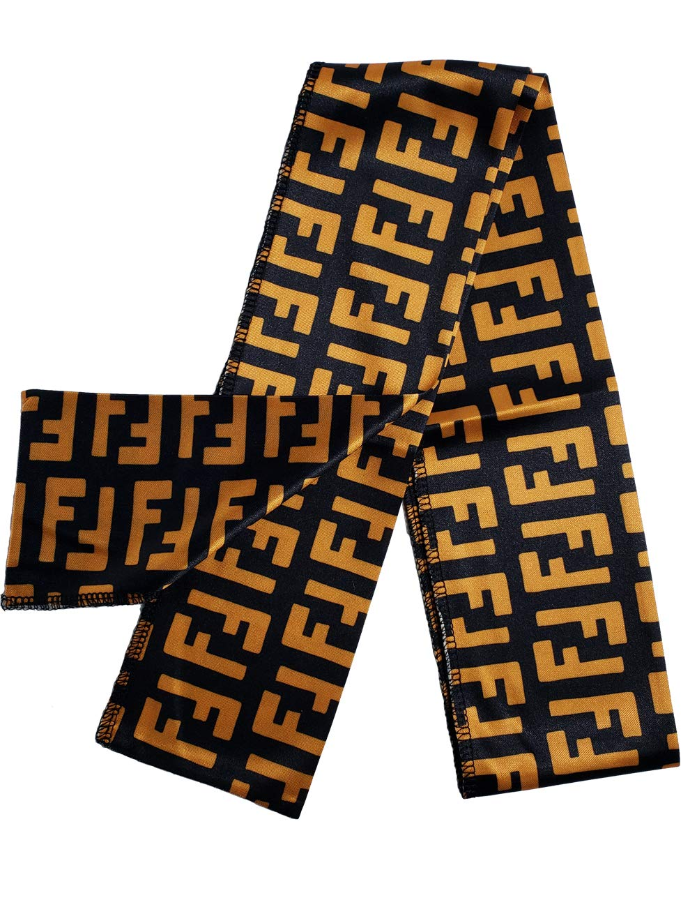 EroTouch Apparel Customs Designer Headbands,Headwrap,Luxury,Limited,Exclusive (FF Graffiti Black)