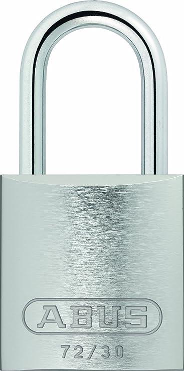 "ABUS 72//30 KD Lockout Padlock,KD,Silver,2-17//32/""H"