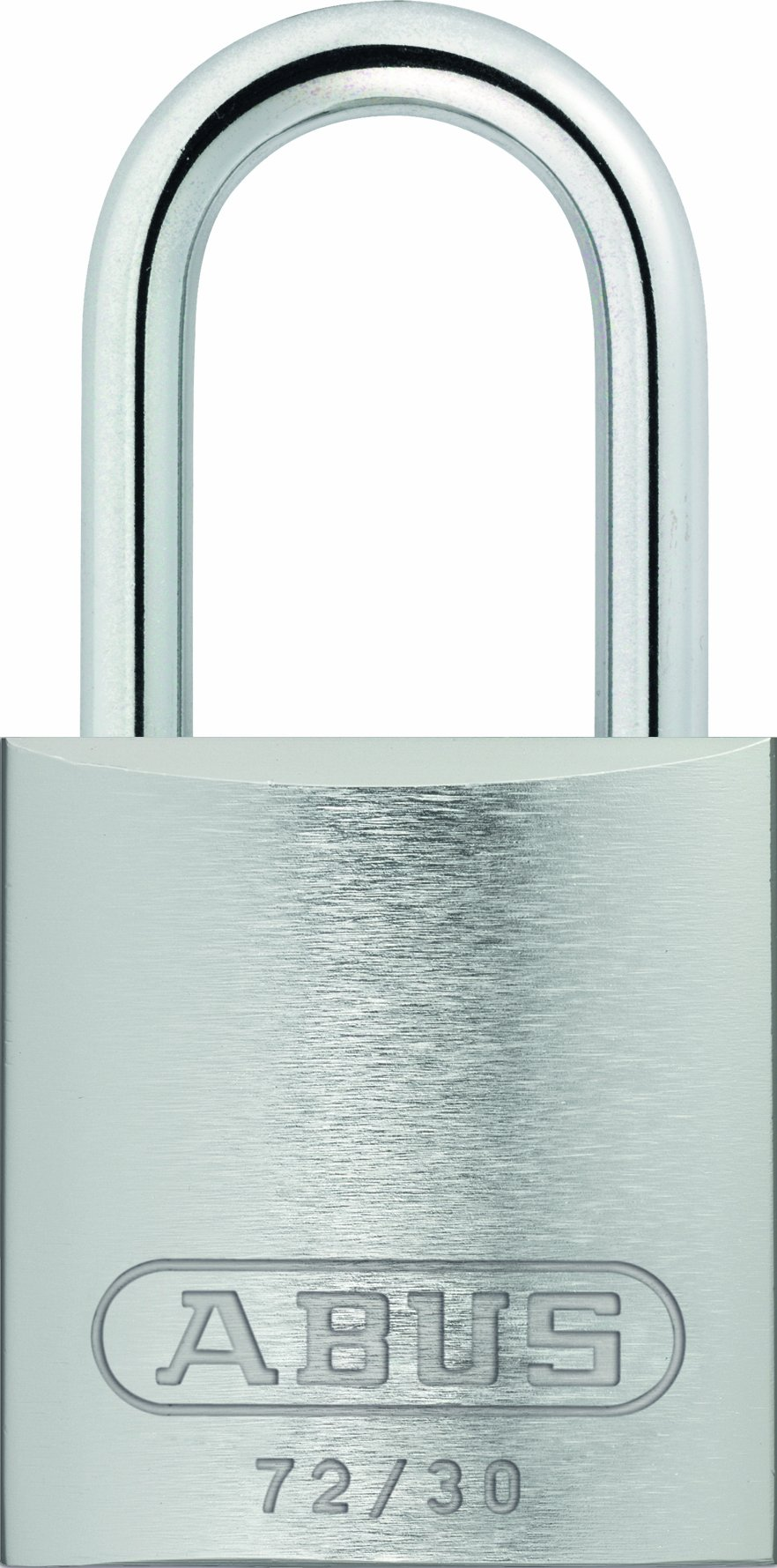 ABUS 72/30 KD Safety Lockout Aluminum Keyed Different Padlock, Silver