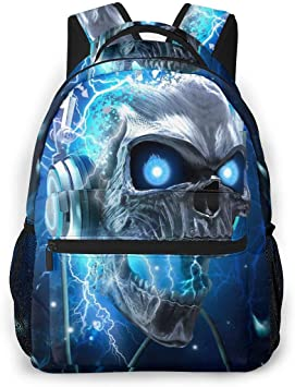 """12/"""" Blue Wolf Backpack Baby Toddle Kids Bags Outdoor Casual Rucksack For Boys"""