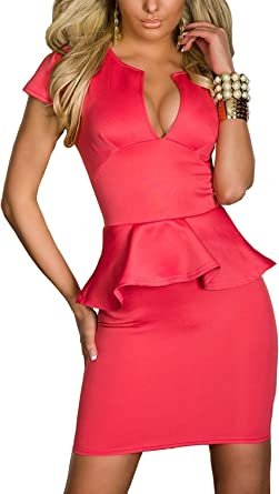 Boliyda Bodycan de corte bajo vestido delgado Slim club vestido ...