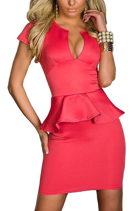 Boliyda Bodycan de corte bajo vestido delgado Slim club vestido informal para las mujeres