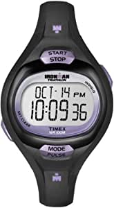 Timex Men's Digital Watch, Chronograph Display and Resin Strap T5K187