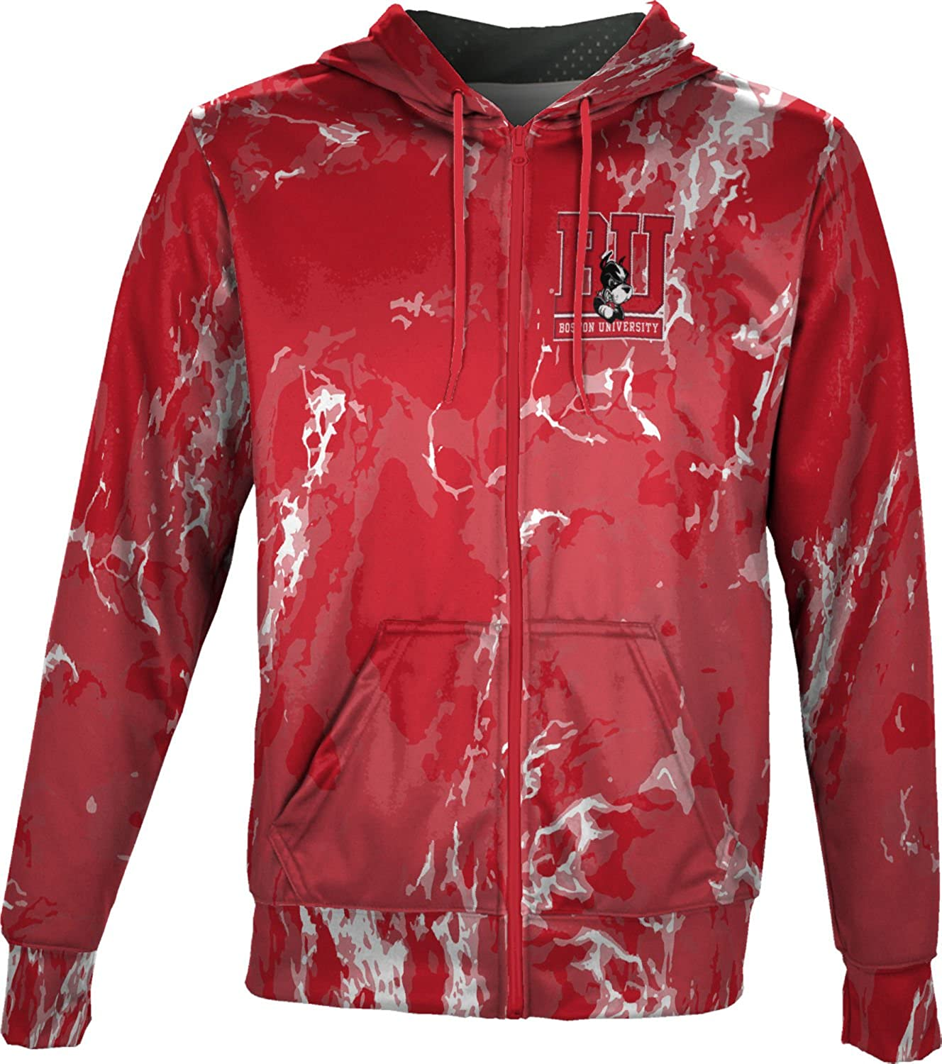 Marble ProSphere Boston University Boys Full Zip Hoodie