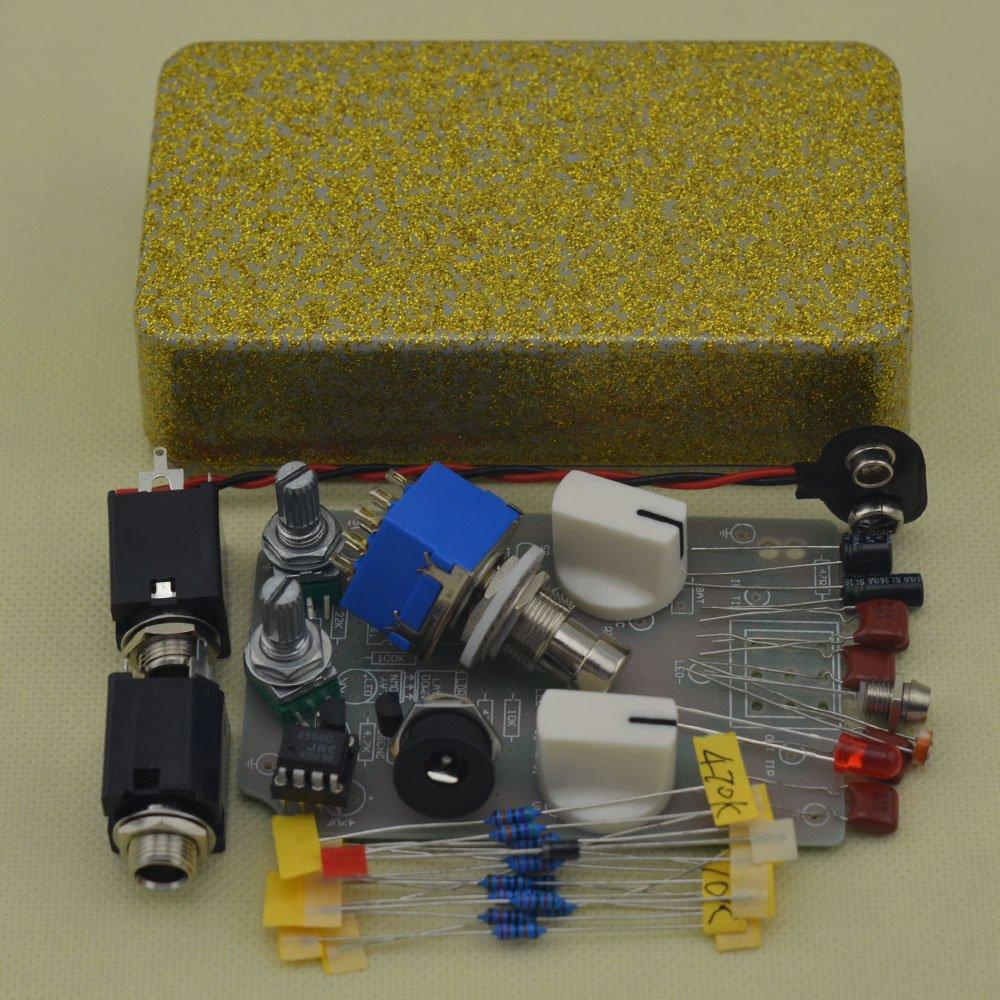 TTONE DIY Compressor Effect Pedal Guitar Stomp Pedals Kit