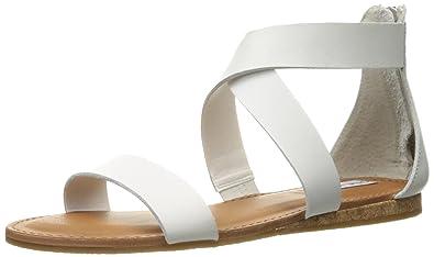 3571ddae0946 Amazon.com | Steve Madden Women's Halley Flat Sandal | Sandals