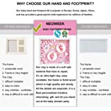 Baby Hand and Footprint Kit for Newborn Girls and
