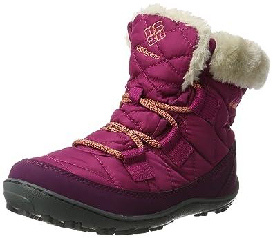 e1a8bb7f013896 Columbia Girls' Youth Minx Shorty Omni-Heat Waterproof Snow Boot, Deep  Blush,