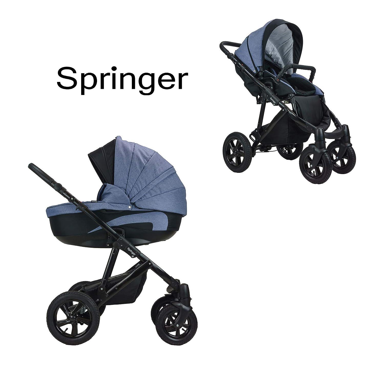 Springer CityStyle 3 in 1 Kinderwagen Kombikinderwagen Set Kombi Komplettset