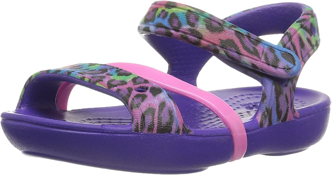 6a3208e08657 crocs Girls  Lina K Sandal
