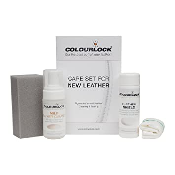 Amazon Com Colourlock Leather Shield Clean Care Kit To Protect