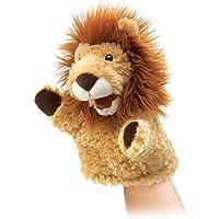 Folkmanis Little Lion Hand Puppet