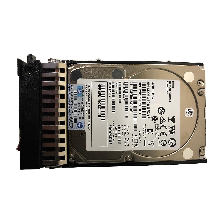 Certified Refurbished HP 900GB 6G SAS 10K 900 SAS 16 MB Cache 2.5-Inch Internal Bare or OEM Drives 619291-B21