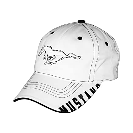 4143e90cf5bf0 Amazon.com  Ford Mustang Bill Edge 3d Pony Baseball Cap  Automotive
