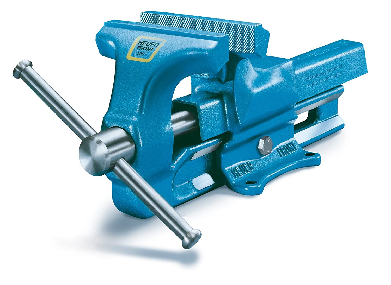 180 mm Azul Brockhaus Heuer 100 180 Tornillo de Banco