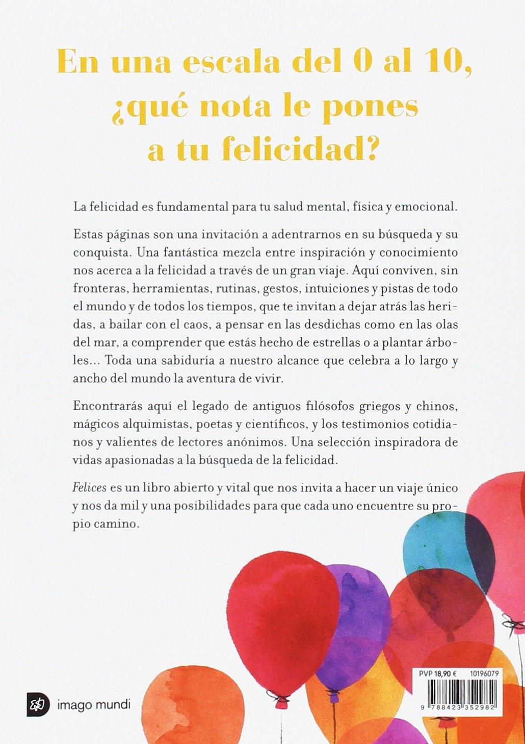 Felices Elsa Punset 9788423352982 Amazoncom Books