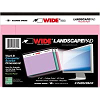 """ROARING SPRING LANDSCAPE PAD ASSORTED 3/PK 8""""x6"""" RULED"""
