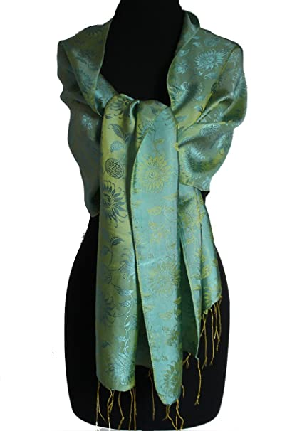 02d5350f0d5 New and Special SALE!!!- Fandori Silk Scarf with Contrasting Color - One  Size