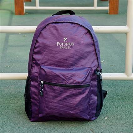 Bolsas de viaje de gran capacidad mochilas plegables para hombre y mujer, ultraligeras, portátil