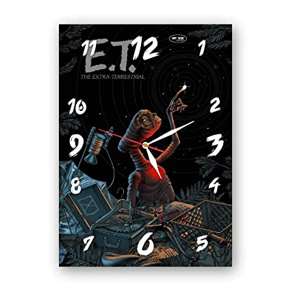 Magnificent Amazon Com Exclusive Clock E T The Extra Terrestrial Download Free Architecture Designs Rallybritishbridgeorg