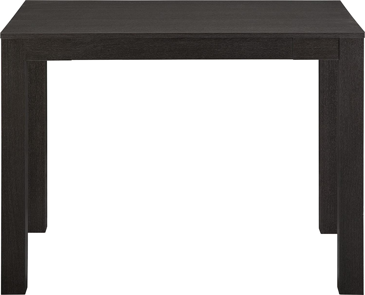 Ameriwood Home Parsons Desk with Drawer, Black Oak