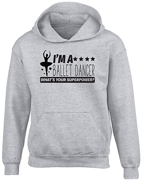 Life without Ballet is Pointless Hooded Top Womens Ladies Dance Dancing Hoodie