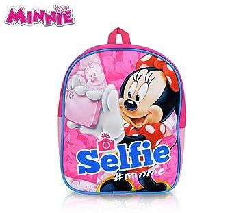 MN16500 Mochila escolar y de ocio de Minnie Mouse 24x20x9 cm: Amazon.es: Equipaje