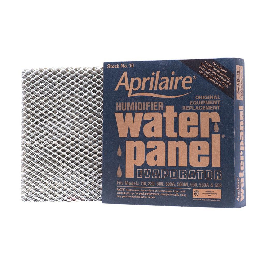 Aprilaire 10 Water Panel for Humidifier Models 110, 220, 500, 550, 558; Pack of 10