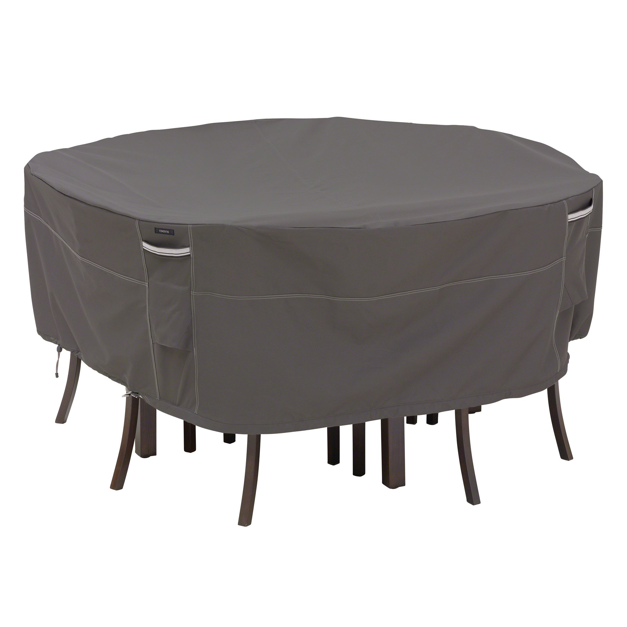 Classic Accessories 55-157-035101-Ec Ravenna Round Patio Table And Chair Cove.. 18