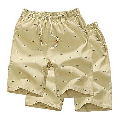 279f805a82 Cheryl Bull Men's Workout Man Boxers Board Shorts Male Bottoms Fat 5XL 2  Pcs k77 Khaki
