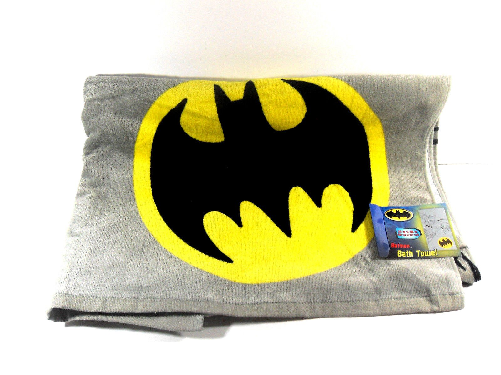 Batman Bathroom Set, Shower Curtain, Hooks, Bath Rug, Bath Towel, Pump Lotion, Toothbrush Holder by Batman (Image #5)