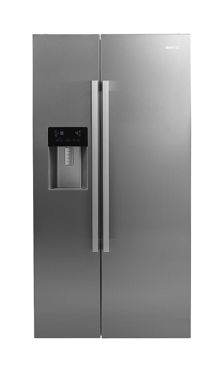 Beko GN162320X - Frigorífico Side By Side Gn162320X Con Dispensador De Agua Y Hielo: Amazon.es: Grandes electrodomésticos